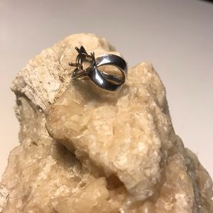 Sterling Ring with Infinity Heart Setting